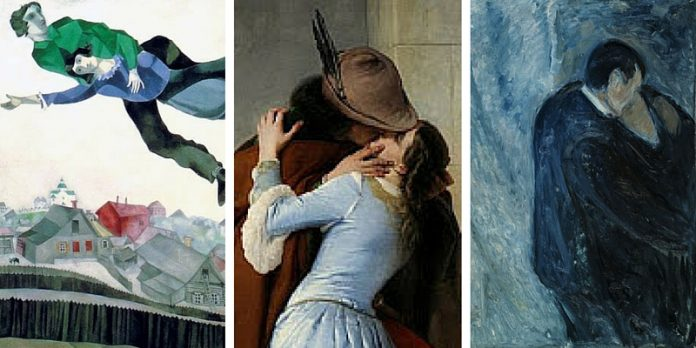 Ecco i dieci baci più belli nella storia dell'arte