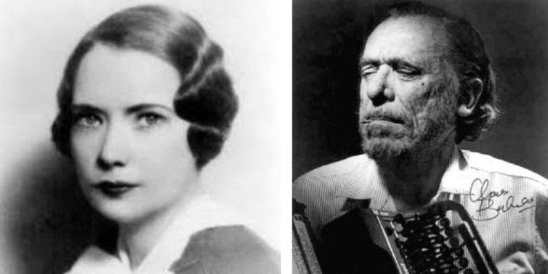 Charles Bukowski e Margaret Mitchell