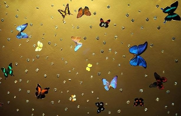 damien hirst, midas and the infinite