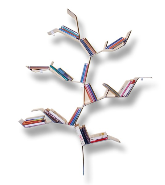 Le 5 librerie di casa pi originali capaci di rendere i for Libreria ad albero prezzi