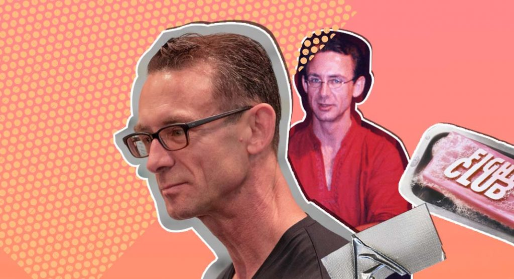 Chuck Palahniuk, l'ideatore del libro cult ''Fight club''