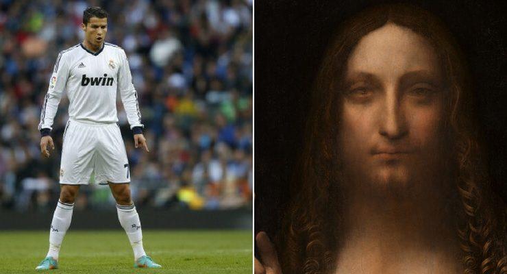 Se Cristiano Ronaldo costa più di un'opera d'arte: le 10 più costose di sempre