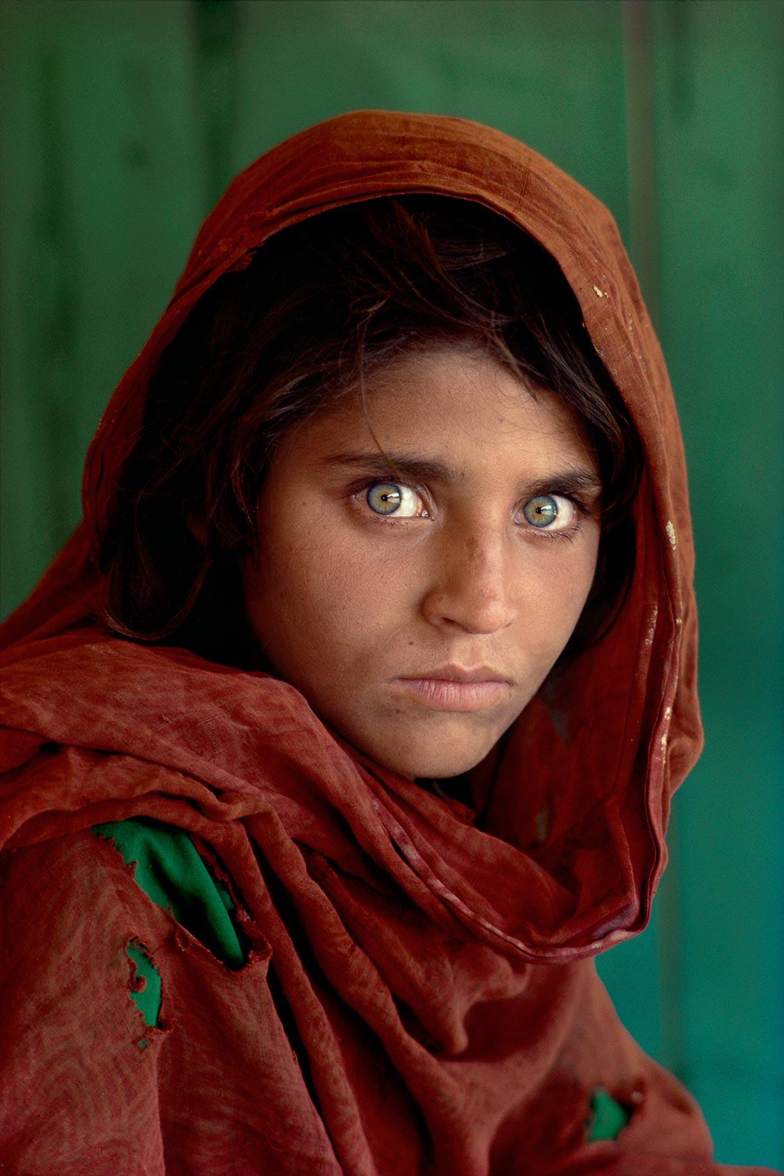 The afghan girl © Steve Mc Curry, 1984