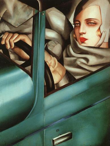 donne nell'arte: Tamara de Lempicka