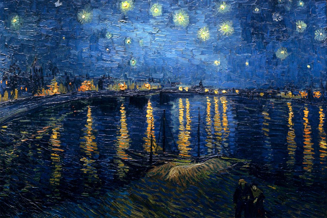 Le 10 opere pi celebri di vincent van gogh for Dipinto di van gogh notte stellata
