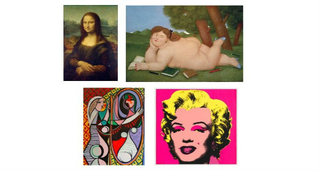 Arriva il test per scoprire quale icona femminile dell'arte sei