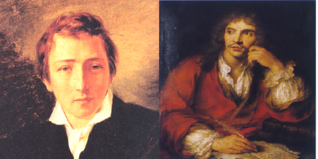 Accadde oggi - 17 febbraio. Ricorrono gli anniversari di Molière e Heine