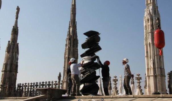 Arte contemporanea, le sculture di Tony Cragg sulle Terrazze del ...
