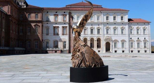 I maestri dell arte italiana contemporanea in mostra a for Torino contemporanea