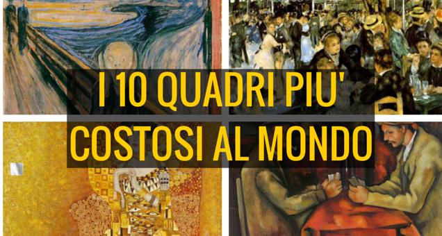I 10 quadri più costosi al mondo