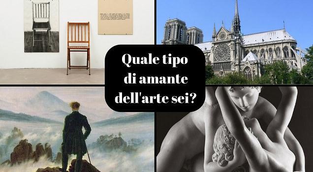 Quale tipo di amante dell'arte sei? Scoprilo con questo test