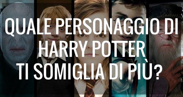 Quale personaggio di Harry Potter ti somiglia di più? Scoprilo con questo test