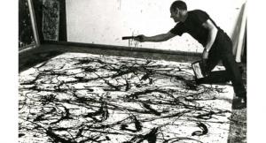 Jackson Pollock, l'atto pittorico come magia