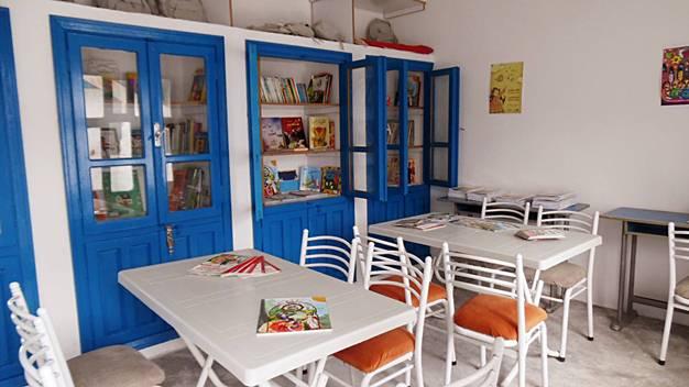 Maktaba, il progetto che porta biblioteche nei campi profughi della Siria