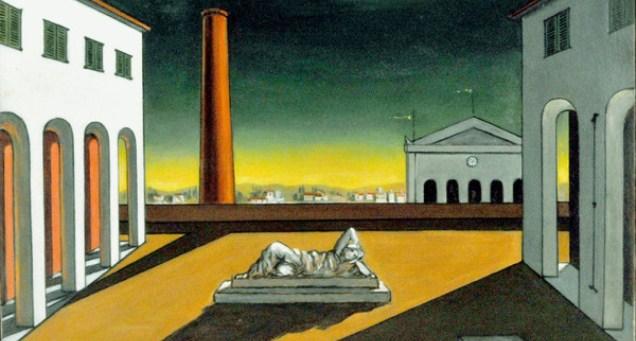 """""""Oltre le apparenze"""", la metafisica di De Chirico e Nunziante."""