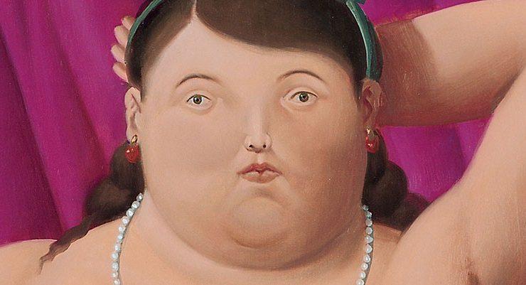 Presentazione della monografia di Botero, alla presenza dell'autore