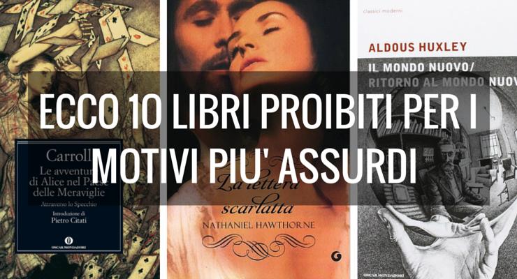 Banned Books Week, 10 libri proibiti per i motivi più assurdi