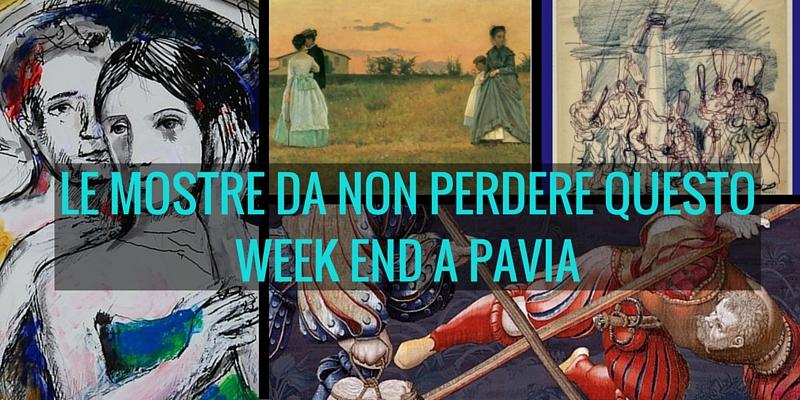Le mostre da non perdere questo week end a Pavia