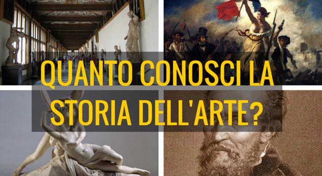 Quanto conosci la storia dell'arte? Scoprilo con questo test!