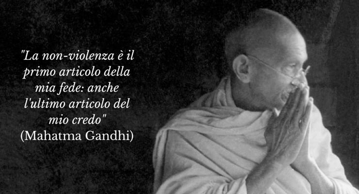 Oggi si celebra la giornata mondiale della nonviolenza