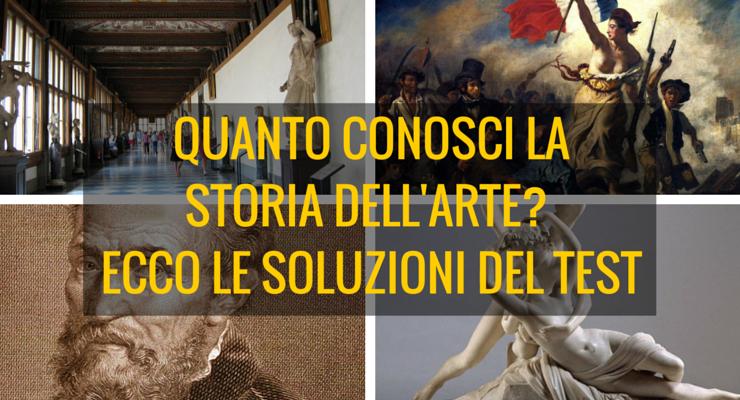 Quanto conosci la storia dell'arte? Ecco le soluzioni del test