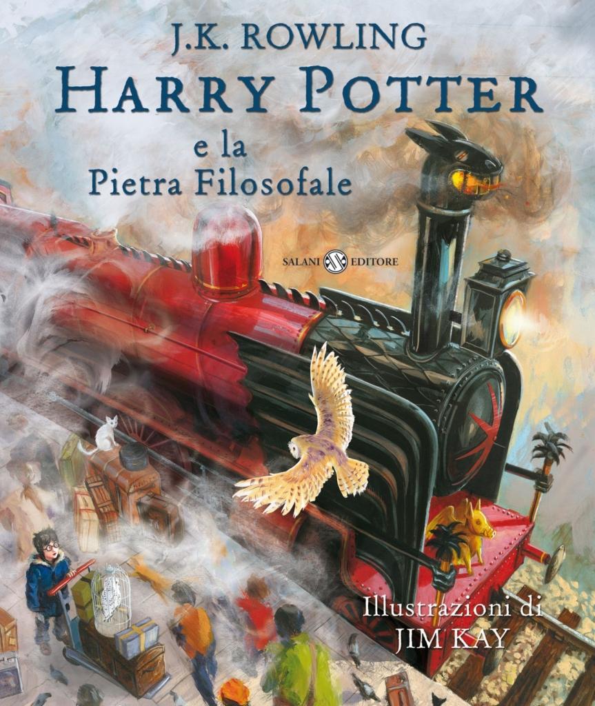 Copertina nuova edizione illustrata Harry Potter