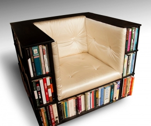 Libreria in una sedia
