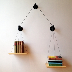Una bilancia di libri