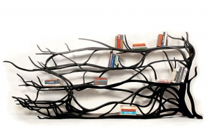 Una libreria a forma di albero