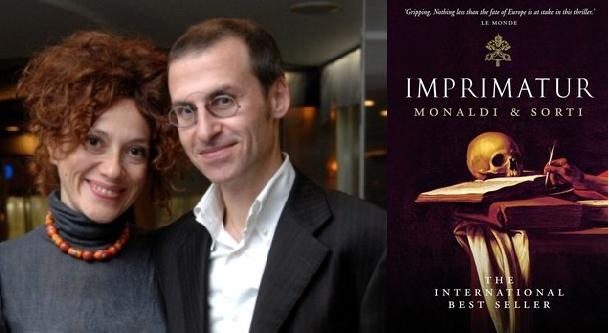 """""""Imprimatur"""", il libro proibito di Sorti e Monaldi arriva anche in Italia"""