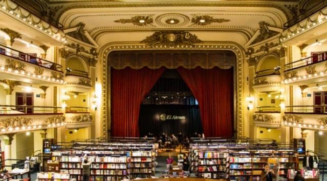 El Ateneo, la libreria più grande del Sudamerica