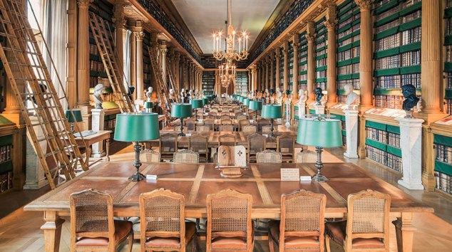 Bibliothèque Mazarin, l'antica e affascinante biblioteca parigina