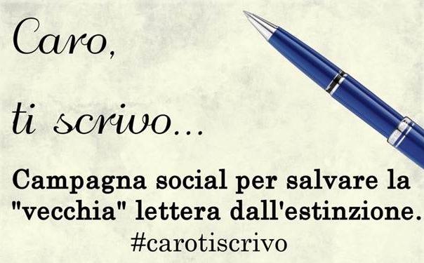 """""""Caro, ti scrivo"""", la campagna social per salvare la """"vecchia"""" lettera dall'estinzione"""