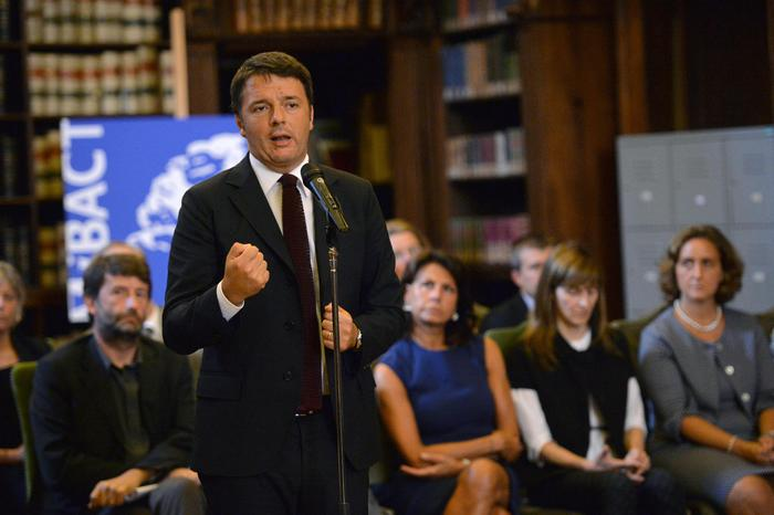 Renzi incontra i nuovi 20 direttori dei musei