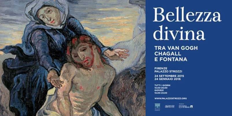 """""""Bellezza divina tra Van Gogh, Chagall e Fontana"""", in mostra a Firenze"""