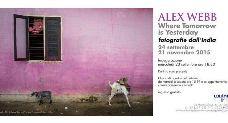Alex Webb, fotografie dall'India in mostra a Milano