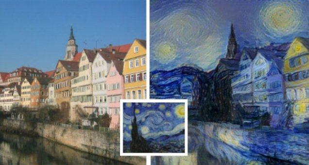 Lo stile dei grandi artisti applicato alle nostre foto