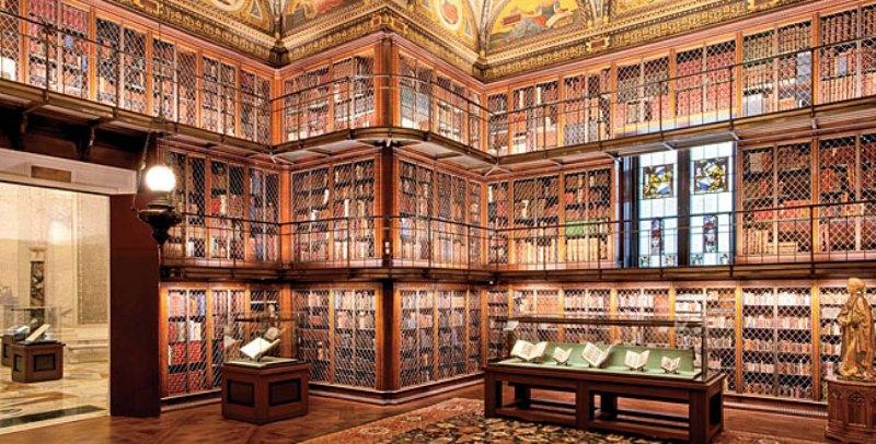 Morgan Library, biblioteca-museo di New York