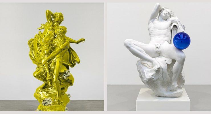 Jeff Koons in Florence, in mostra un confronto tra antico e contemporaneo