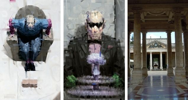 Gli ''Osservatori'', i nuovi dipinti di Wainer Vaccari per la prima volta in mostra