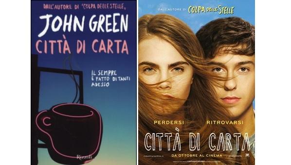 Dal libro al film, esce oggi al cinema Città di carta tratto dall'omonimo romanzo di John Green