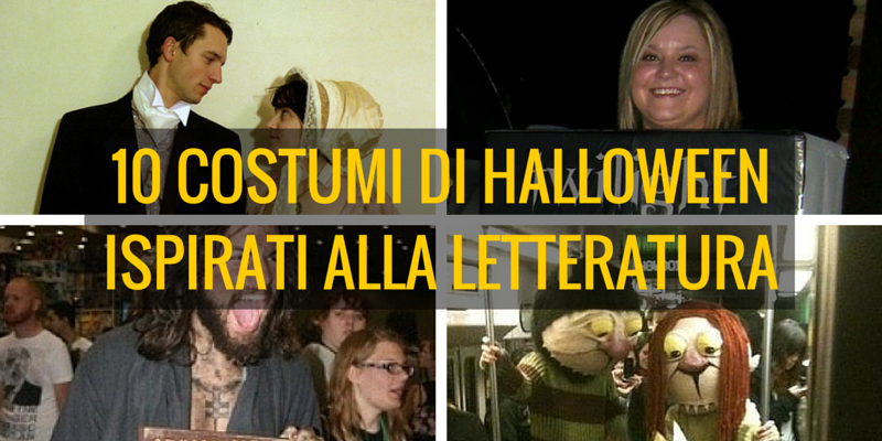 Halloween, 10 travestimenti ispirati alla letteratura