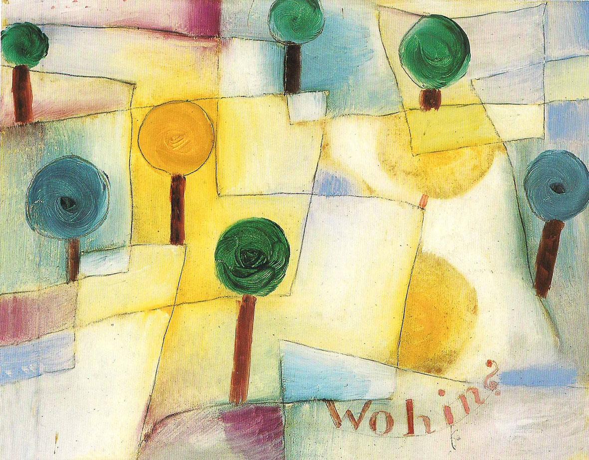 Mondi animati, Paul Klee