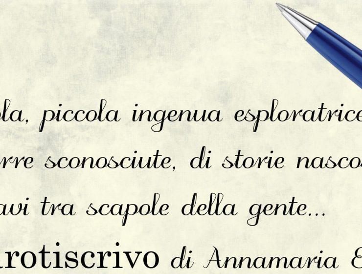 Lettera di Annamaria Elia alla figlia