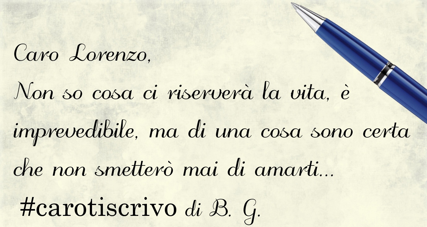 Lettera di B. G. a Lorenzo