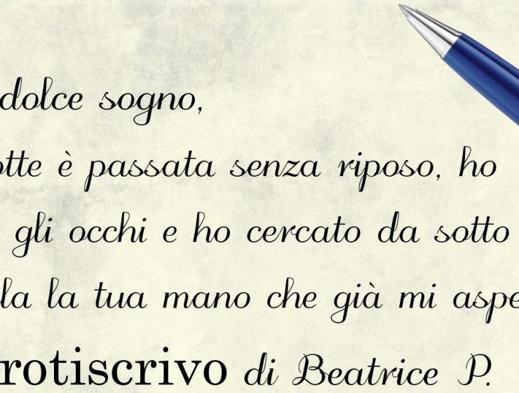 Lettera di Beatrice P.