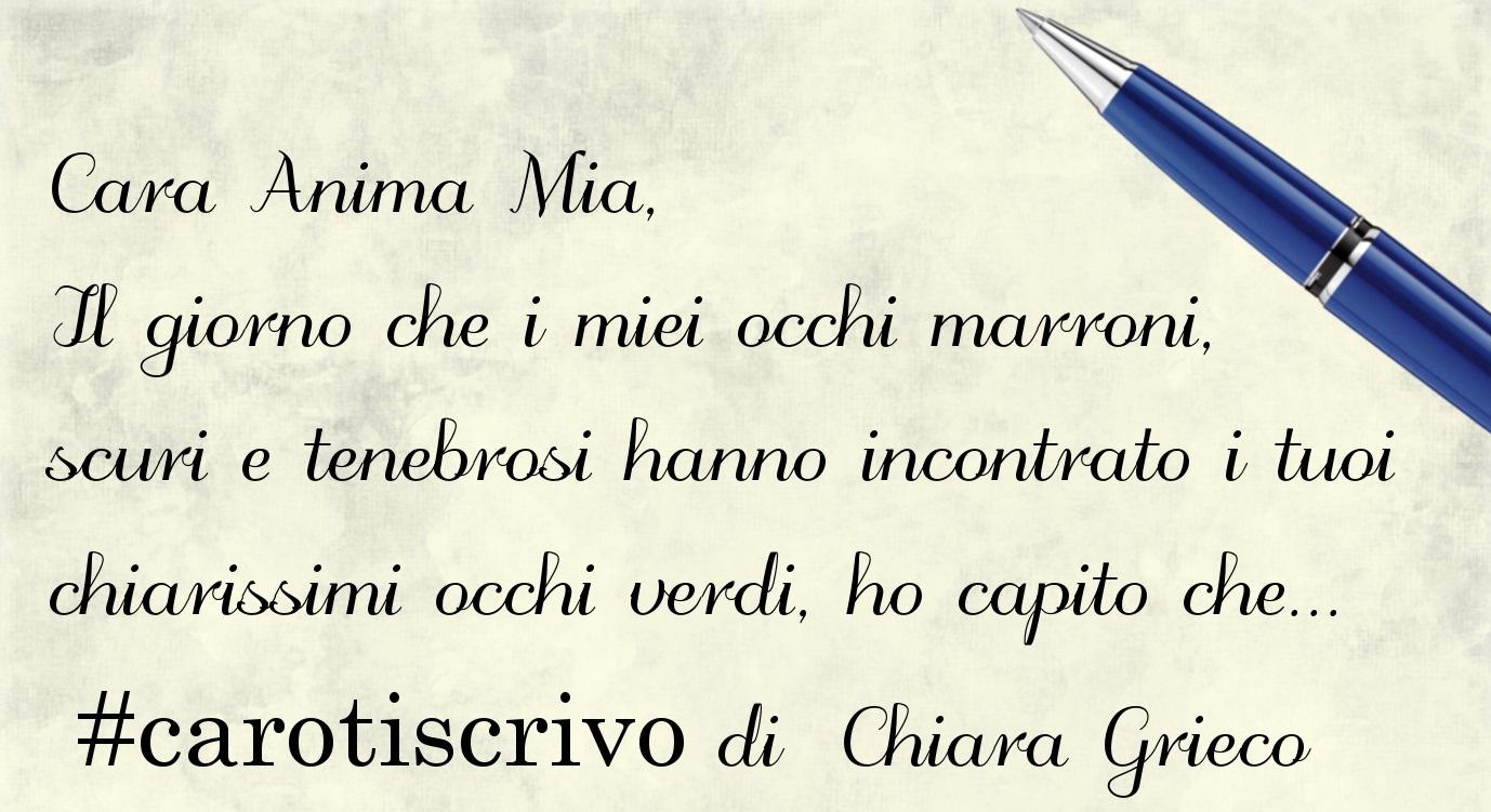 Lettera di Chiara Grieco