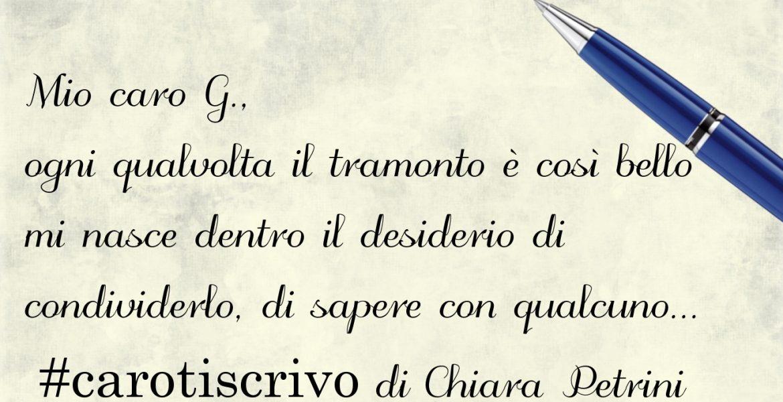 Lettera di Chiara Petrini