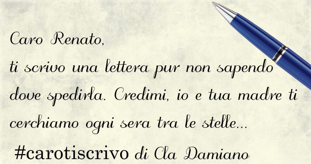 Lettera di Cla Damiano al figlio