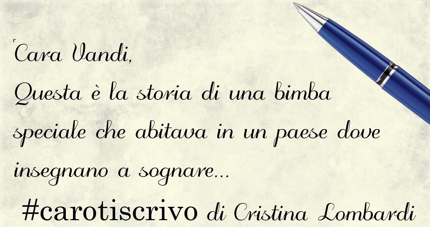 Lettera di Cristina Lombardi